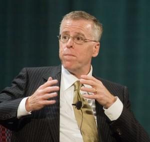 Panelist Tom Rosenstiel.