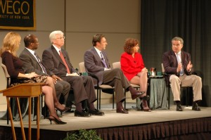 The Panelists in action during the 2006 Media Summit.