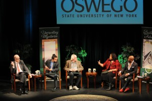 The Panelists in action during the 2012 Media Summit.